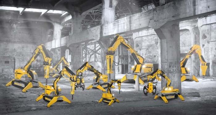 Brokk rivningsroboter