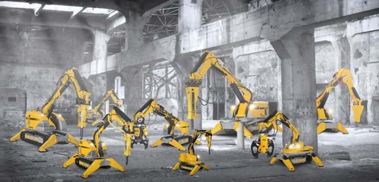 Robot da demolizione