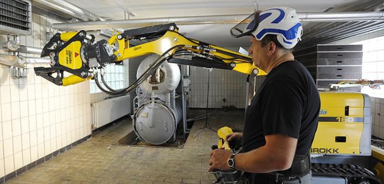 Brokk 160 - Robot da demolizione