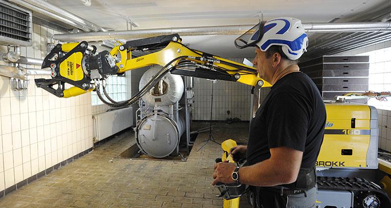 Brokk 160 - rivningsrobot