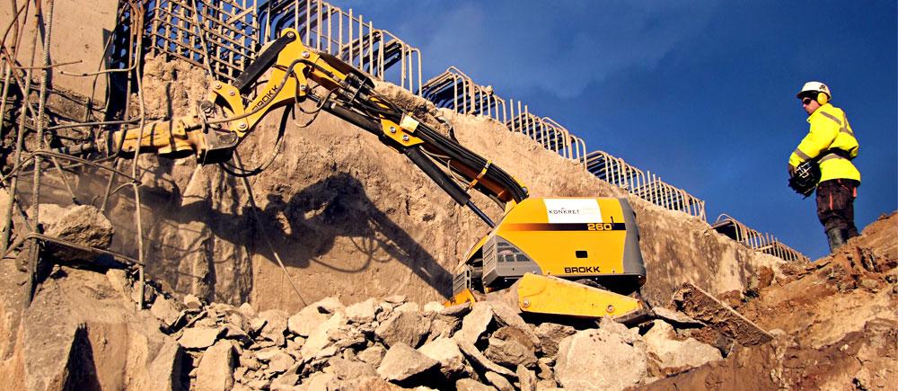 Bygg og anleggsarbeid - Brokk og Darda