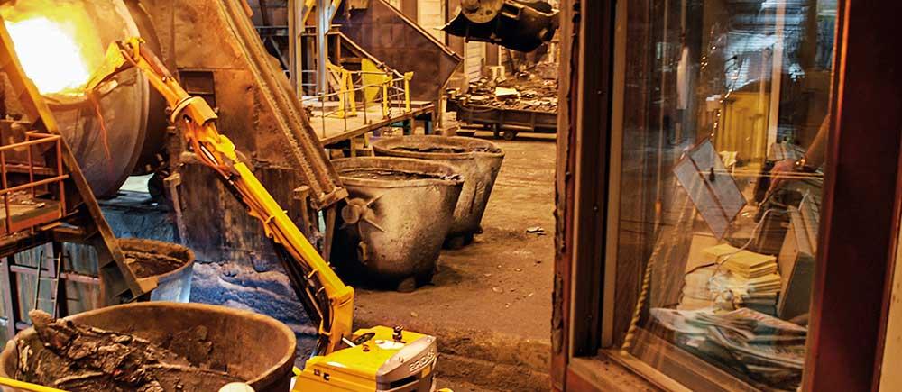 Arbeid i smelteverk